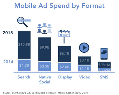Mobile Ad Spend By Format