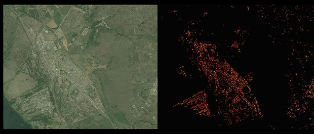 population density in Naivasha, Kenya