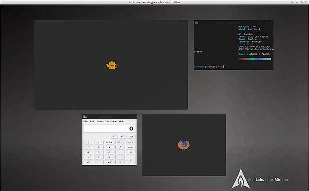 ArchLab Linux Skippy-XD integration