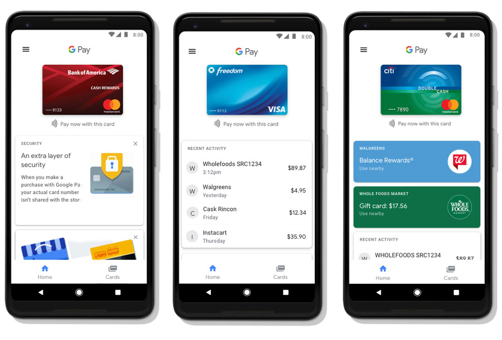 Google Pay launched replacing Android Pay, Google Wallet