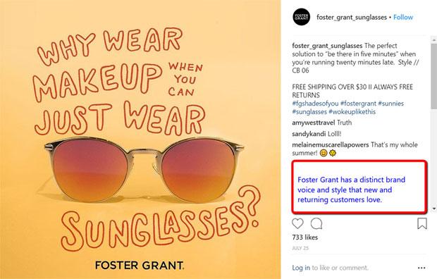Foster Grant screen shot