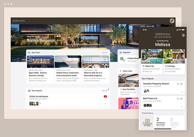 Moxtra web-mobile portal
