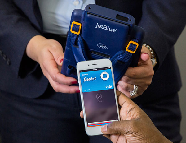 JetBlue Apple Pay