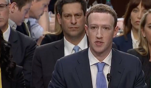 Facebook CEO Mark Zuckerberg testifies at Senate hearing on data privacy