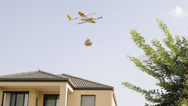 alphabet's project wing has launched a limited drone delivery service in australia