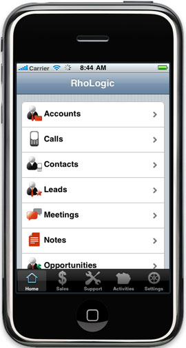 RhoLogic Mobile for SugarCRM