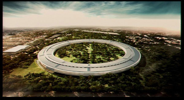 Apple's proposed new headquarters