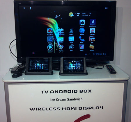 Sagemcom's HDMI Android Multiscreen Product