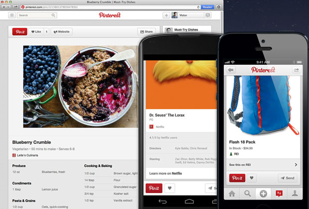 Pinterest Adds More Info to Pins