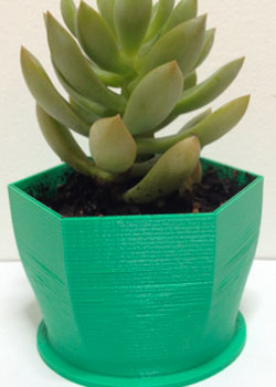 Small Hex Planter