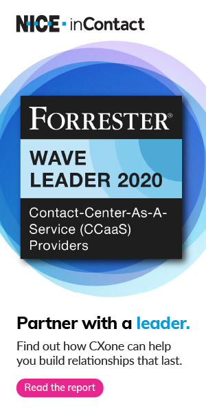 Forrester names NICE inContact CXone a leader in cloud contact center software
