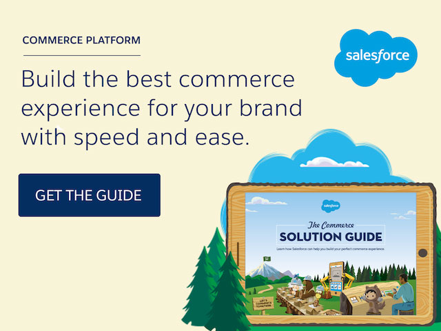 Salesforce Commerce Solution Guide